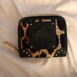 Juicy couture cheetah wallet